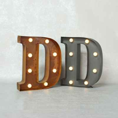 Vintage Marquee Light-D
