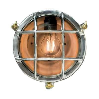 Round Industrial bulkhead wall lamp