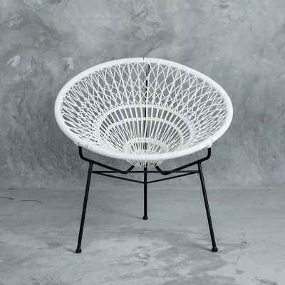 round outdoor chair