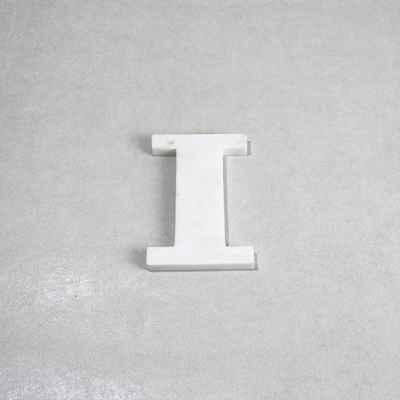 marble letter I