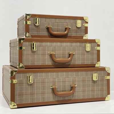 Scotch Leather Box Set of 3