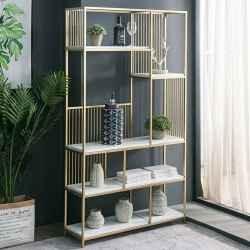 Iron&MDF Shelves H180-Gold