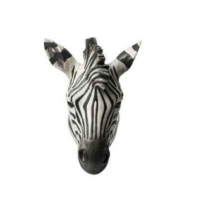 Resin Zebra Head Mounted Trophy