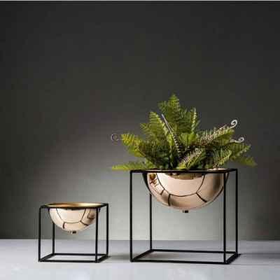 Iron Plant Pot