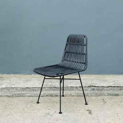 Wicker&Steel Chair