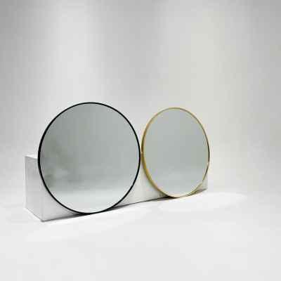 Round Alu Mirror
