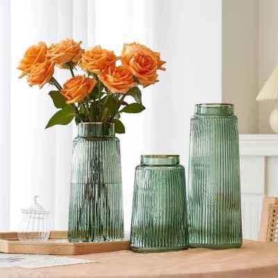 Glass Vase - Green
