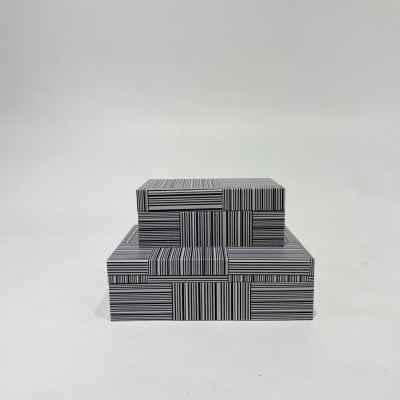 Leather Box Set Of 2