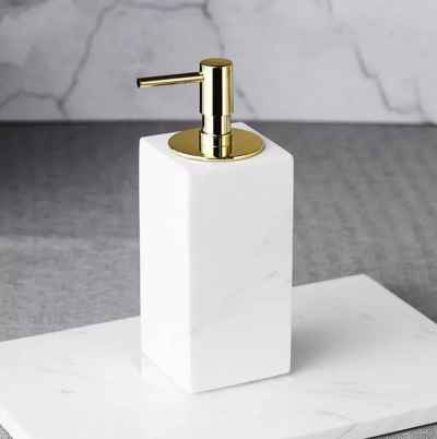 Square Marble Dispenser