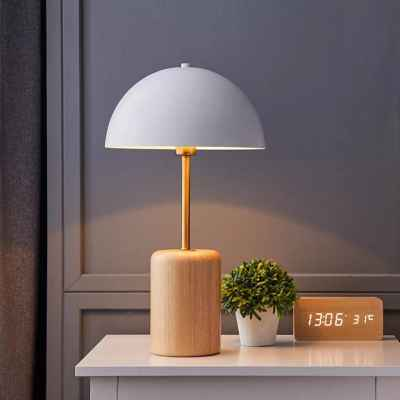 Wooden Base Table Lamp