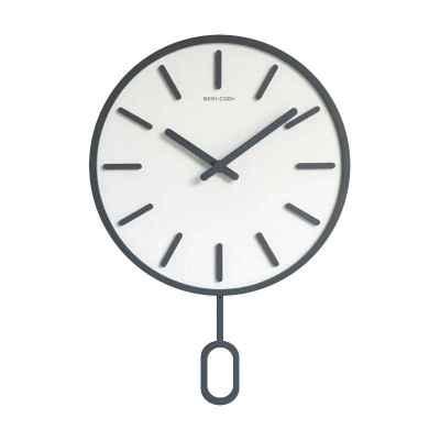 Fiberboard Wall Clock